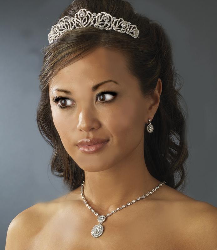 Octavie Rose Bridal Tiara