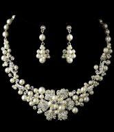 Flower Bridal Jewelry Set